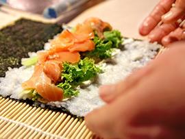 Demo - Shrimp Scampi with Pasta